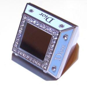 Dior Mirrored Princess Poison Box Ring Sz 8.75
